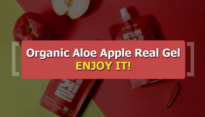 KDYALOE Organic Aloe Apple Real Gel 8