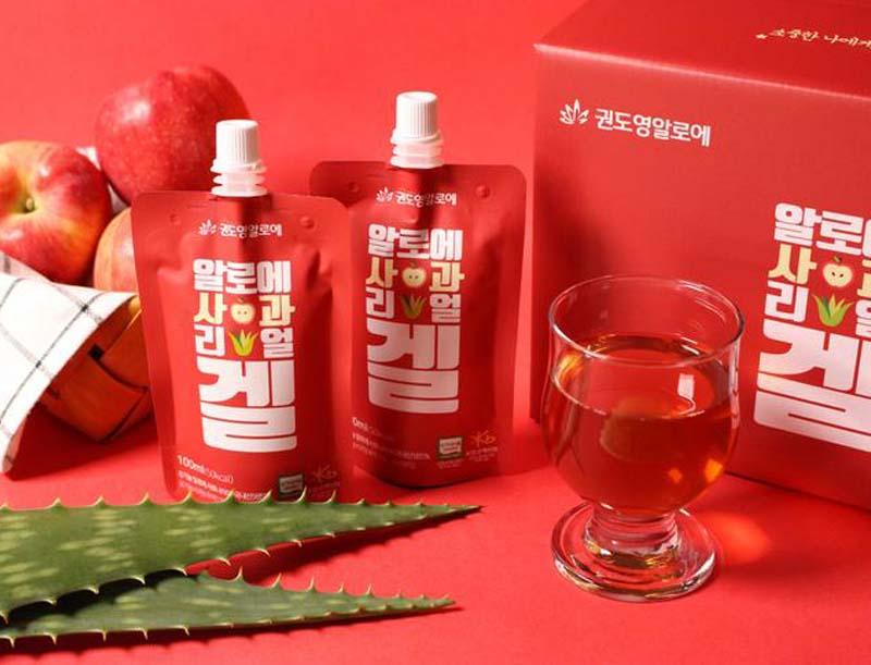 KDYALOE Organic Aloe Apple Real Gel 2