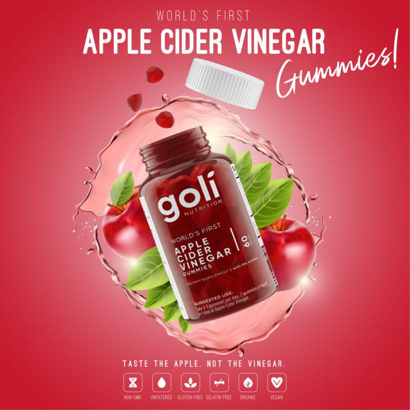 Goli Apple Cider Vinegar Gummy AVC 0