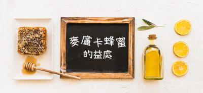 麥盧卡蜂蜜的益處 Health Benefit of Manuka Honey